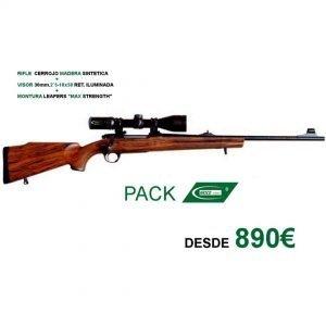 imagen pack rifle cerrojo krico