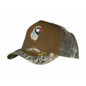 gorra de camuflaje perdiz