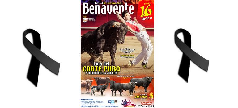 Toro Enmaromado Benavente 2019 – Cuando la fiesta se tiñe de luto.