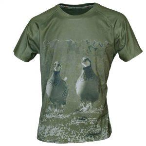 Imagen camiseta de manga corta benisport perdices