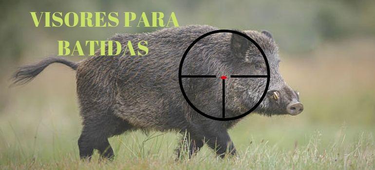 VISORES DE CAZA PARA BATIDAS DE JABALÍ