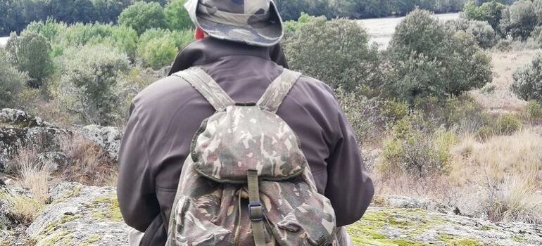 imagen que llevar en la mochila de caza