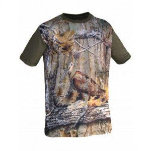 imagen camiseta de caza becada