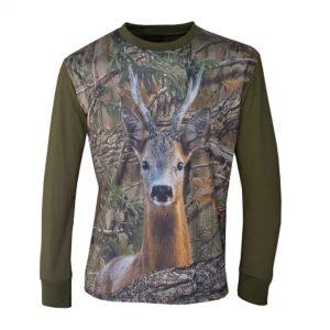 imagen camiseta de caza corzo