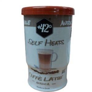 cafe con leche autocalentable