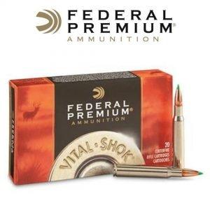 imagen bala federal premium 30-06 springfield 165 grain nolser ballistic tip