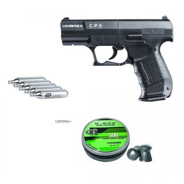 imagen pack pistola umarex cps co2 4.5